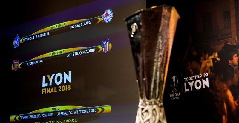 El Atlético se medirá con el Arsenal en las semifinales de la Europa League