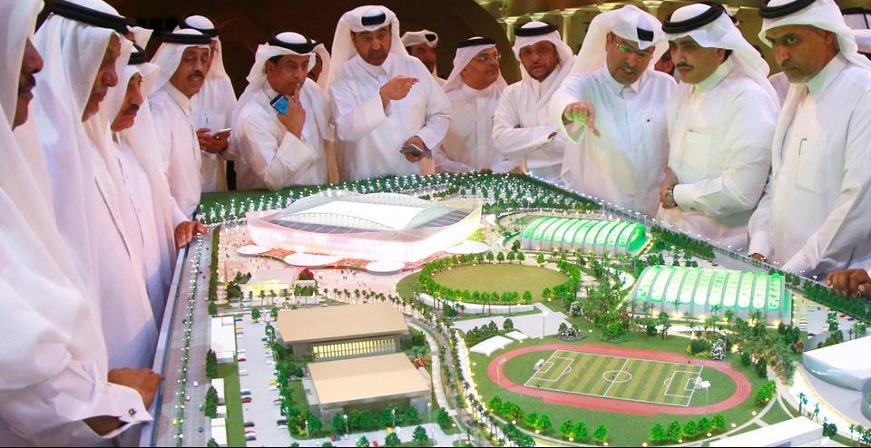 """Denuncian que el mundial de Catar se jugará en """"estadios bañados de sangre"""""""