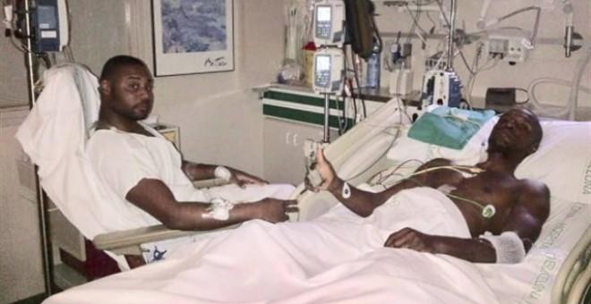 """Abidal publica una foto de su trasplante para """"defender la honorabilidad"""" de su primo"""