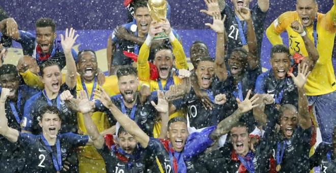 Francia impone su pegada ante Croacia y se lleva su segundo Mundial