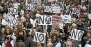 Una manifestación contra los recortes en sanidad del Gobierno del PP.- EFE/Archivo