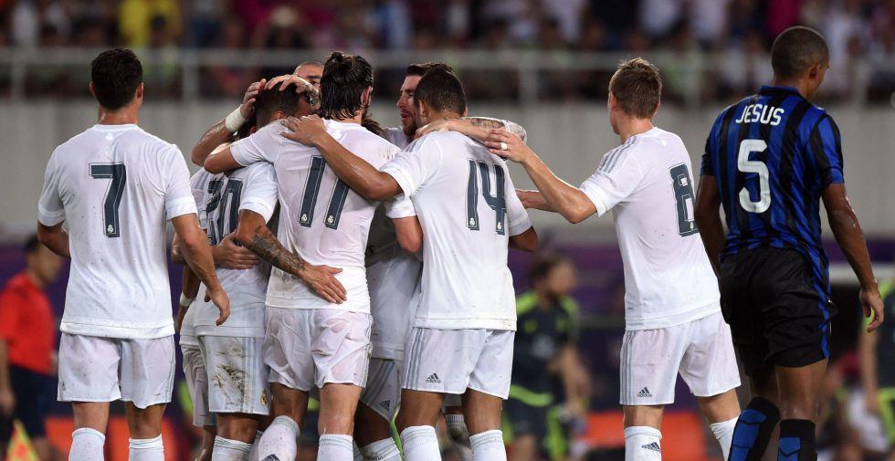 El Madrid golea a un discreto Inter