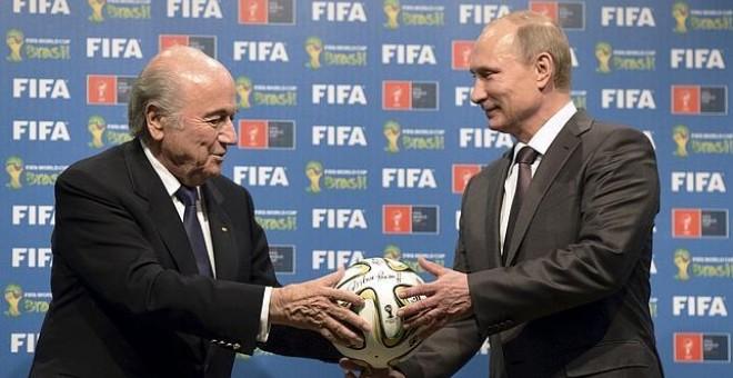 Putin pide el Premio Nobel para el presidente de la FIFA Joseph Blatter