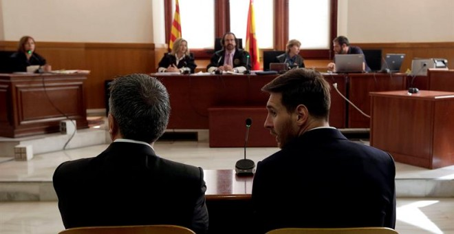La Fiscalía acepta cambiar la pena de prisión a Messi por una multa de 255.000 euros