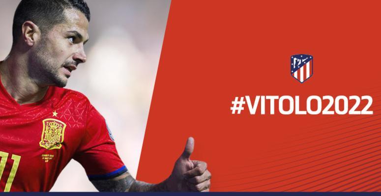 Vitolo pone fin al culebrón, firma por el Atlético hasta 2022 y jugará en Las Palmas hasta diciembre