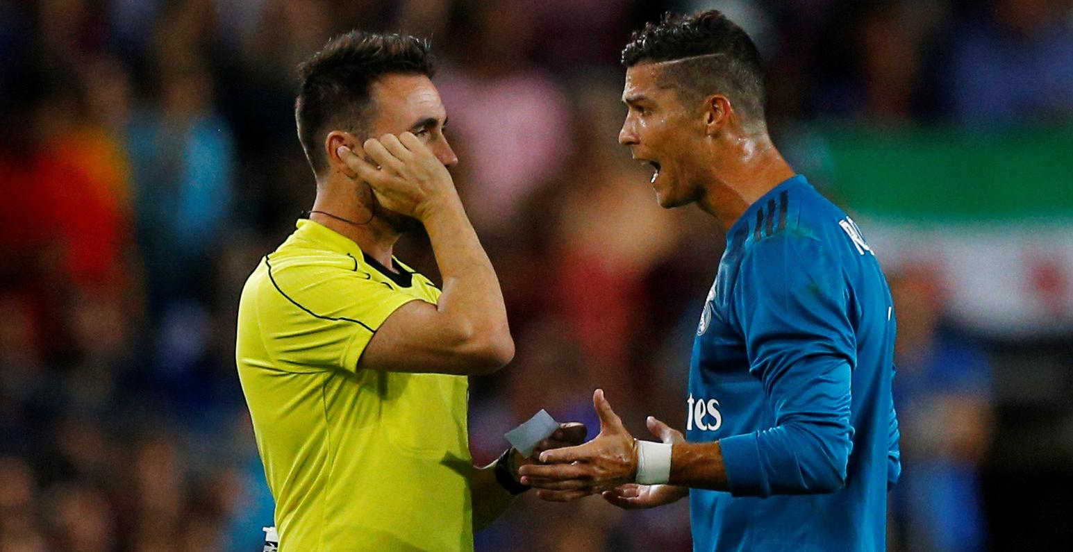 Apelación ratifica los cinco partidos de sanción a Cristiano Ronaldo