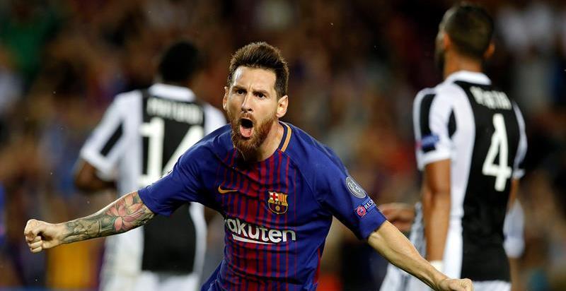 Messi desdibuja a la Juventus