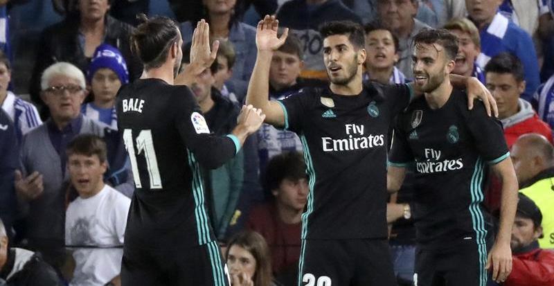 Mayoral y Bale salen al rescate del Real Madrid en Anoeta