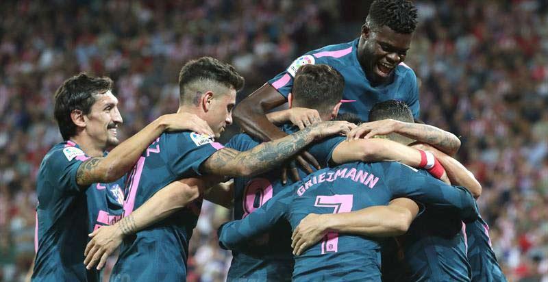El Atlético se adueña de San Mamés