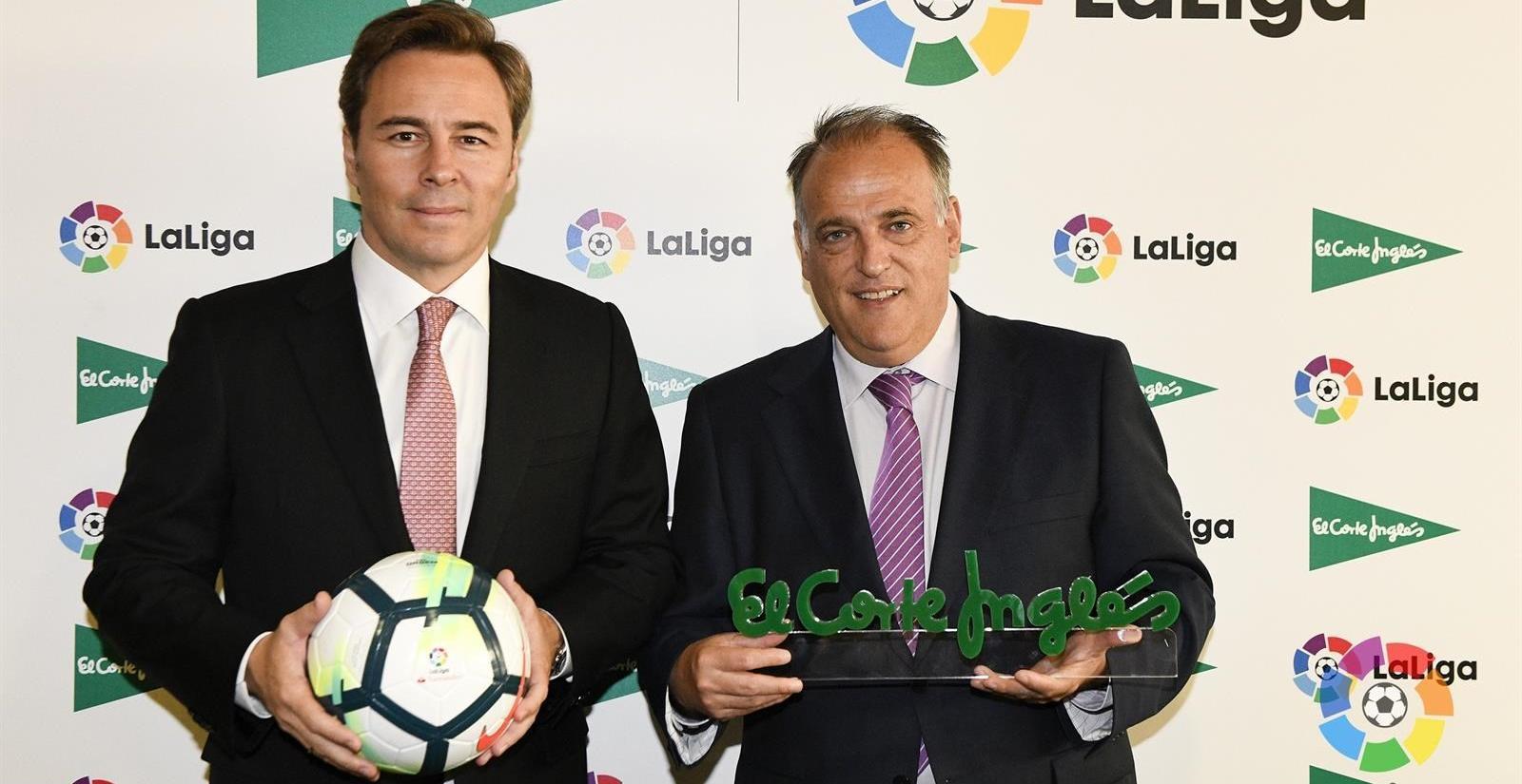 El Corte Inglés será patrocinador oficial de la LaLiga