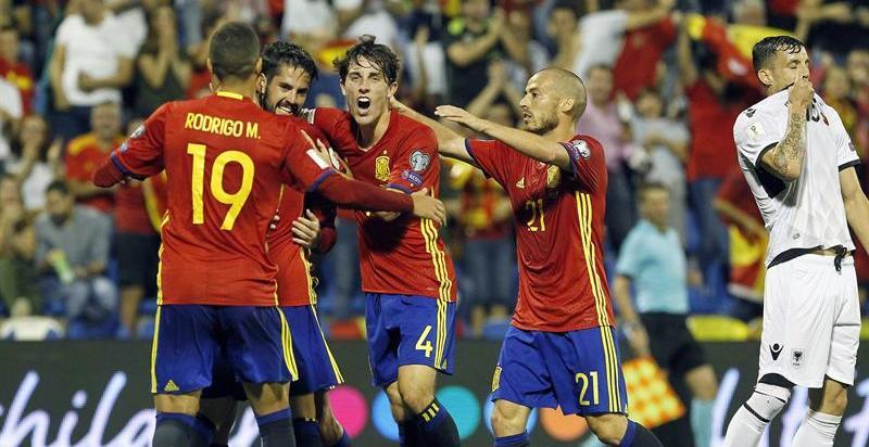 España se exhibe y certifica su billete para el Mundial