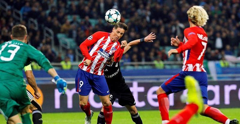 El Atlético dispara sus dudas en Bakú