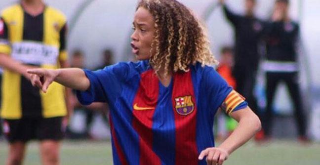 Xavi Simons: el futbolista de 14 años que ya tiene su community manager