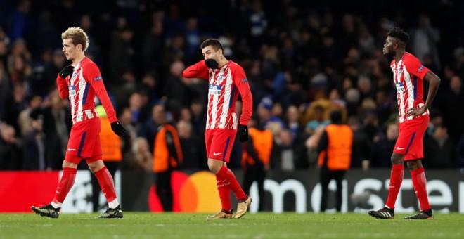 El Atlético no culmina el milagro y consuma su eliminación de la Champions