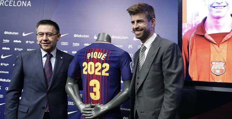 """Piqué dice que el resultado de las elecciones del 21-D """"no está siendo respetado"""""""