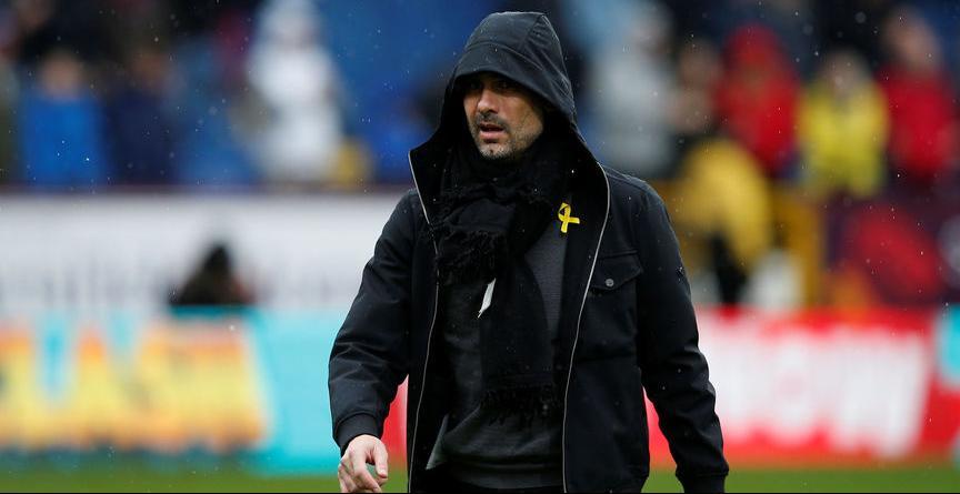 La Federación inglesa expedienta a Guardiola por su lazo amarillo de apoyo a los presos