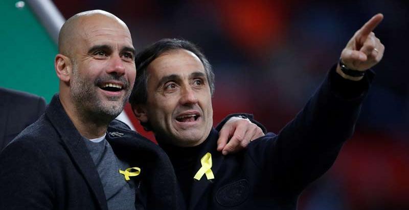 """Guardiola: """"Llevaré siempre el lazo amarillo"""""""