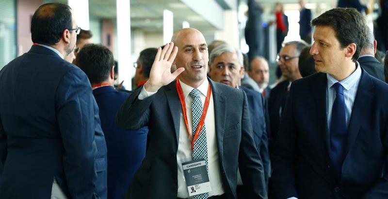 Luis Rubiales, elegido nuevo presidente de la Federación Española de Fútbol