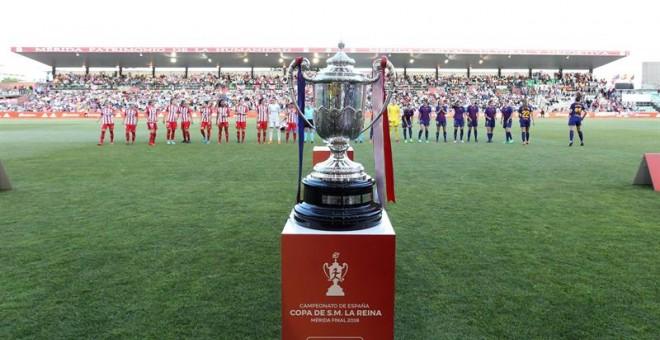 El Barcelona conquista su sexta Copa de la reina al ganar al Atlético