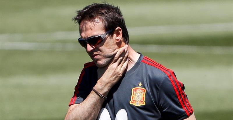 Lopetegui, destituido como seleccionador de España a dos días del debut en el Mundial