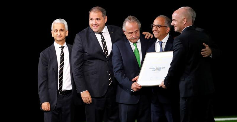 México, Canadá y Estados Unidos organizarán el Mundial de fútbol de 2026