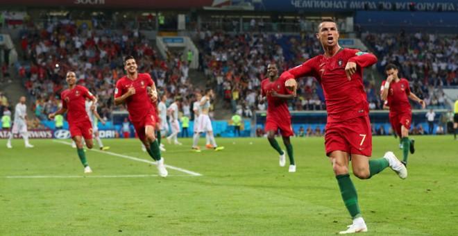 Cristiano frustra a España