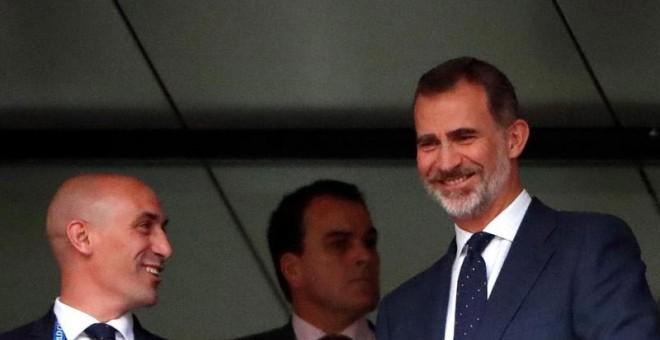 """Luis Rubiales: """"No me arrepiento de la decisión sobre Lopetegui"""""""