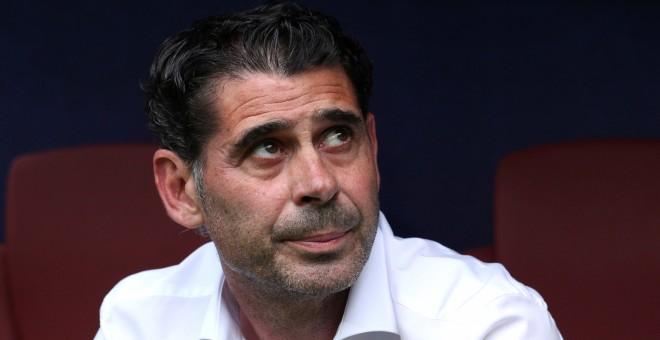 Fernando Hierro deja de ser seleccionador y abandona la Federación
