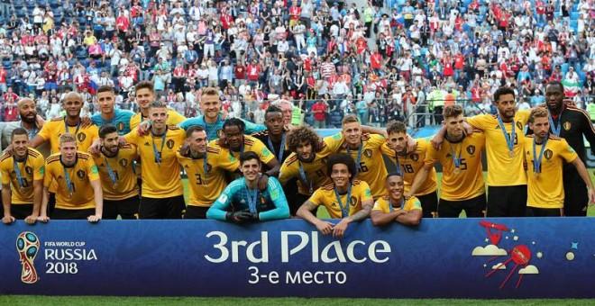 Bélgica reivindica el buen fútbol con la tercera plaza en el Mundial de Rusia