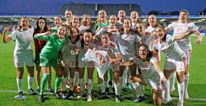 Jornada memorable para el fútbol femenino español: la selección sub-20, a la final del Mundial