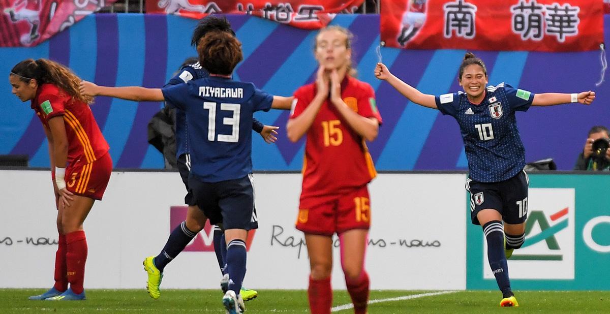 Japón deja a España sin gloria mundial