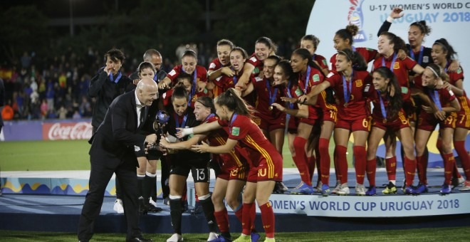 La selección sub'17 femenina vence a México y se lleva su primer mundial