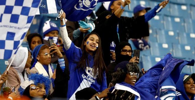 Polémica en la Supercopa de Italia en Arabia Saudí por impedir la entrada a mujeres solas