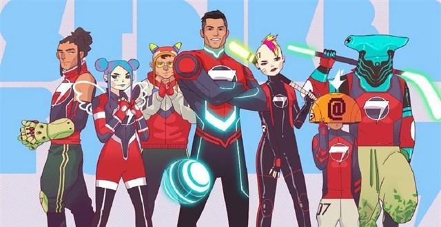 """Striker Force 7"", la serie que tiene a Cristiano Ronaldo como protagonista"