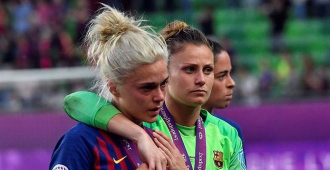 El Olympique de Lyon le arrebata al Barcelona la Liga de Campeones femenina