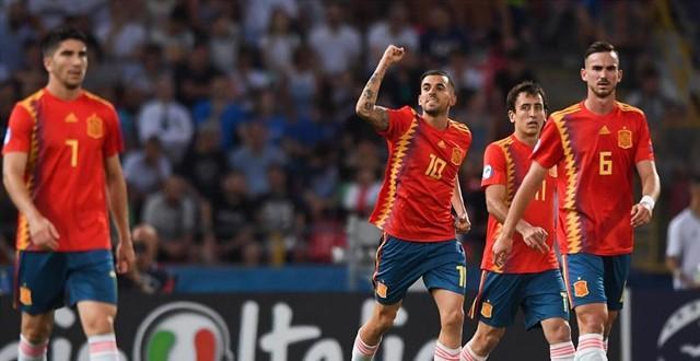 Triple éxito para España sub21: golea a Polonia (5-0), alcanza las semifinales y se clasifica para los Juegos Olímpicos