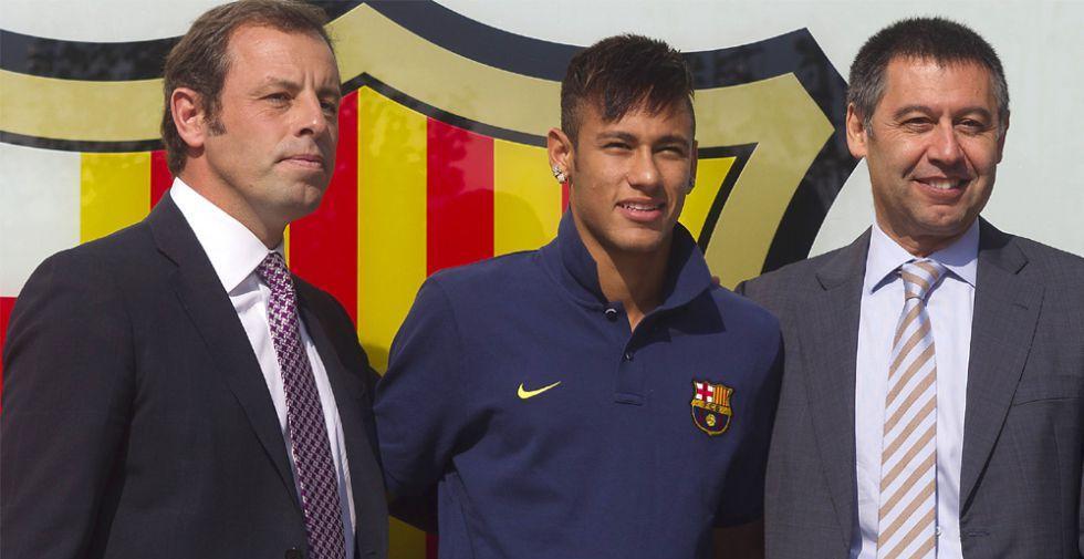 La Audiencia Nacional envía a un juzgado de Barcelona el segundo juicio por el fichaje de Neymar en 2013
