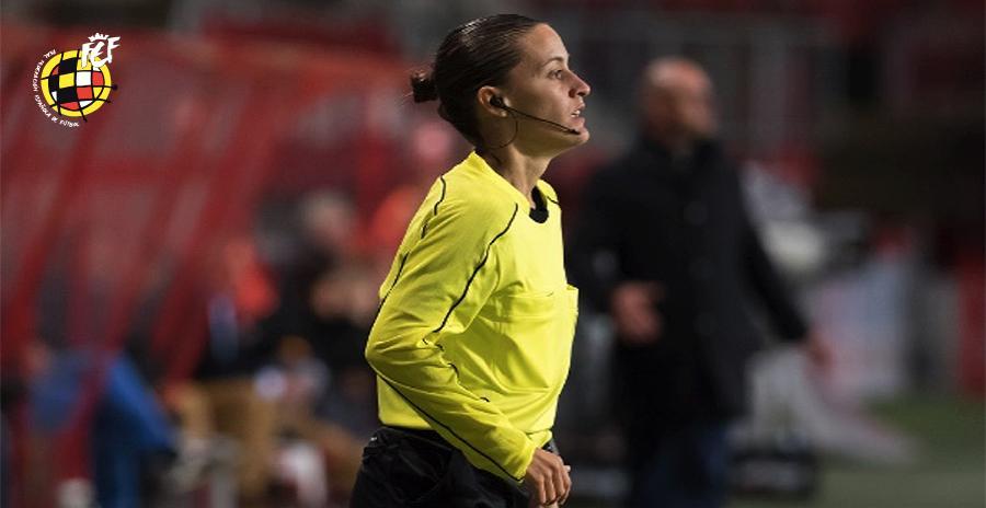 Guadalupe Porras Ayuso, primera árbitra asistente en debutar en Primera División